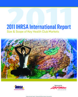 2011 Intl Mkt report cover